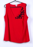 Red Etam Top Size 18