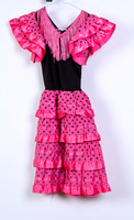 Pink Spanish dress Size 3 years