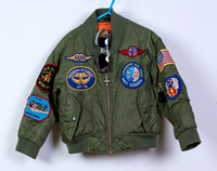 Pilot jacket Size 3-4 years